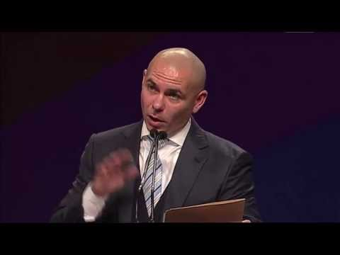 Pitbull Opens National Charter School Conference