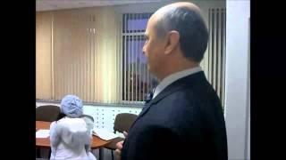 Председатель Борисоглебской Гор.Думы Какорин А.Н.убегает от своих избирателей. 10.12.12г