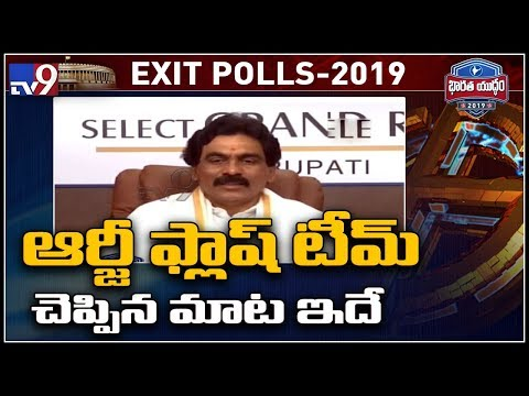 RG Flash Team exit poll survey is out : Lagadapati - TV9