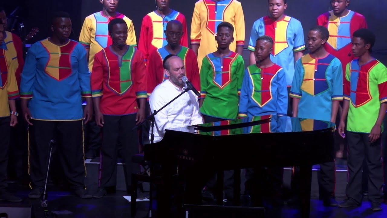 יונתן רזאל - למען אחי | Yonatan Razel & Mzansi Youth Choir - For my Brothers