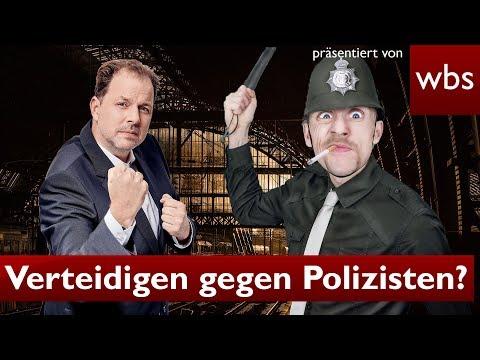 Selbstverteidigung gegen Polizisten – darf ich das? | Rechtsanwalt Christian Solmecke