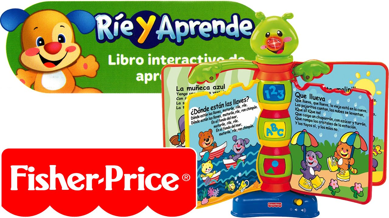 libros infantiles fisher price