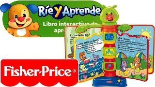 Ríe y Aprende Libro Interactivo de aprendizaje Fisher Price