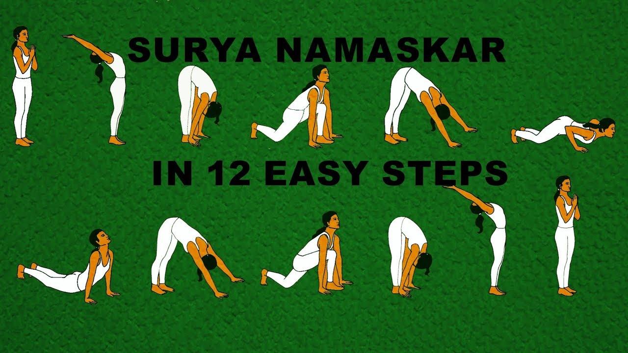 Surya Namaskar Yoga Video Free Download In Telugu