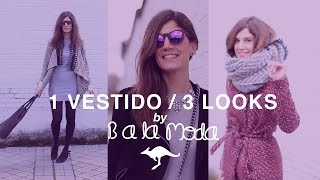 1 vestido / 3 looks | B a la moda ♡ Aussie Hair Spain