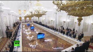 Путин проводит заседание Госсовета по вопросу развития дорог LIVE