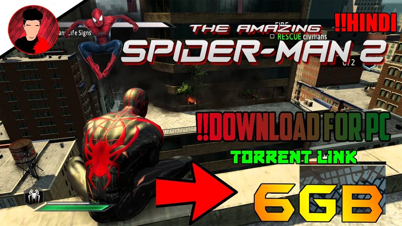 Download How to Download And Install The Amazing Spiderman 2 on pc highly compressed in hindi