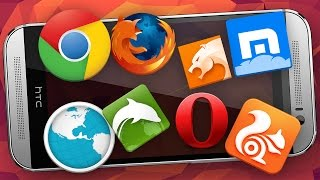 5 ЛУЧШИХ браузеров для Android!