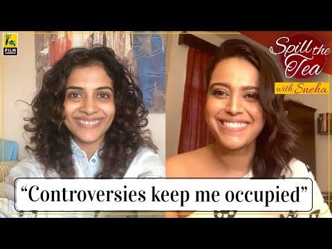 Swara Bhasker | Spill the Tea with Sneha | Flesh | Eros Now | Film Companion