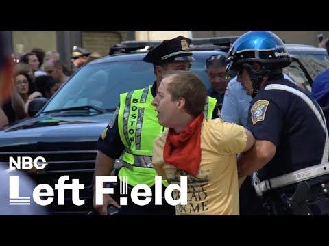 Inside Boston's Free Speech Rally: NBC Left Field