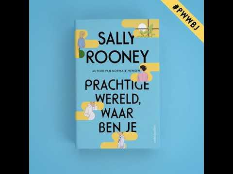 Prachtige wereld, waar ben je van Sally Rooney - Boektrailer