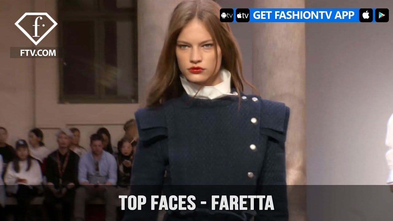 Faretta Radic Top Faces Croatian Fashion Model Spring 2018 | FashionTV | FTV