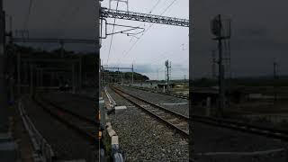 踏切をゆっくり通過する205系❗ JR奈良線 複線化 山城多賀 #short