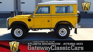 1977 Land Rover Series III  - Gateway Classic Cars of Atlanta #242