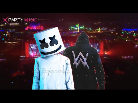 alan walker vs marshmello alone breakbeat 2017 youtube