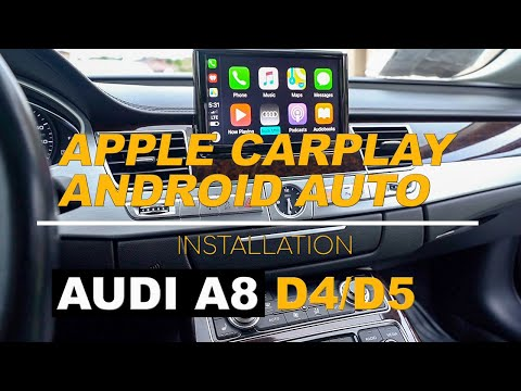 Audi CarPlay and Android Auto Retrofit – How to install CarPlay in Audi A8 D4/D5 with MMI 3G [2020]