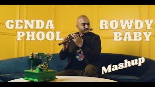Genda Phool | Rowdy Baby | Mashup by Flute Siva ft. Chandni | Badshah | Yuvan Shankar Raja | Dhanush