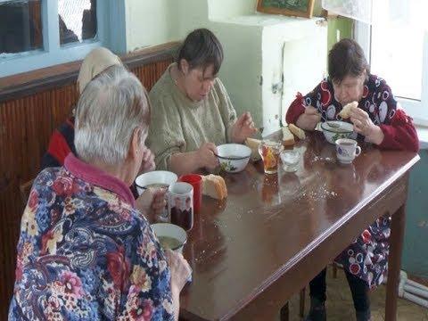 Дом милосердия стал спасением для одиноких людей