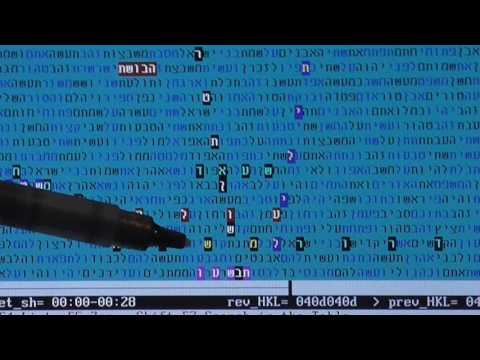 5776   A YEAR OF WORLDLY  TERROR   in  bible code    Glazerson