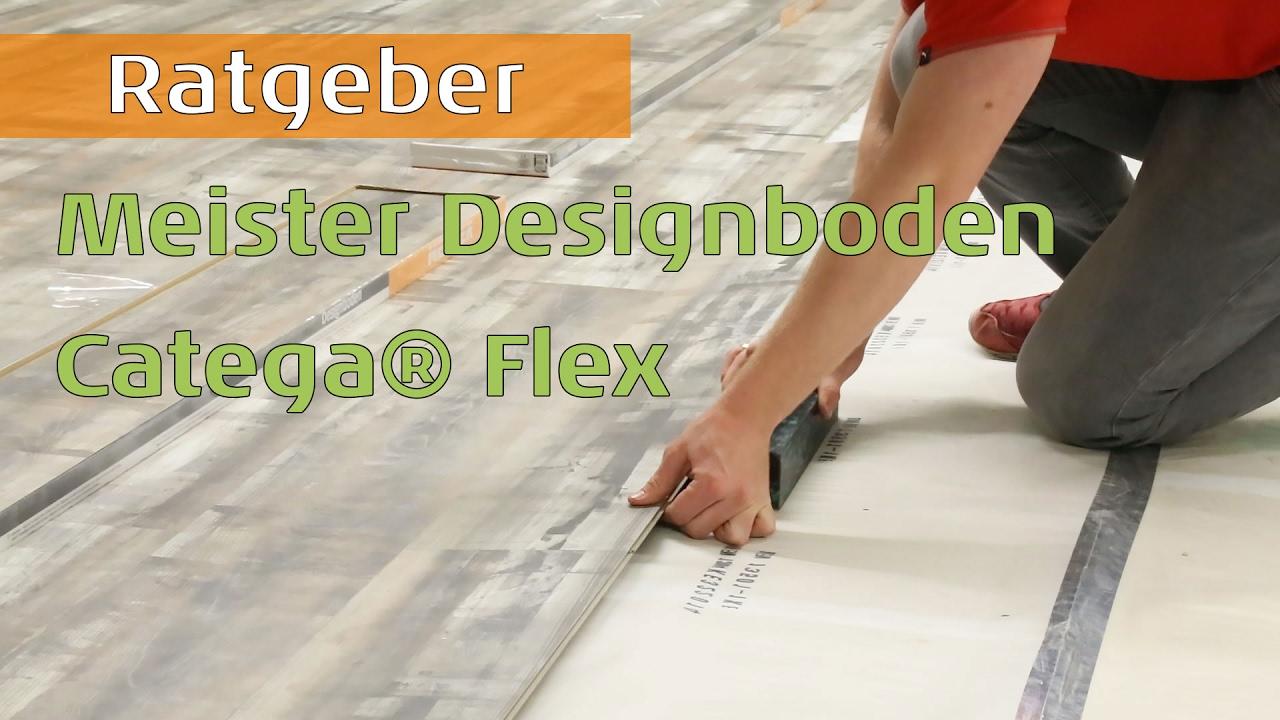 Vinyl Fußboden Meister ~ Meister designboden catega flex youtube
