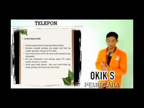 Dasar telekomunikasi (radio, televisi, telephone)