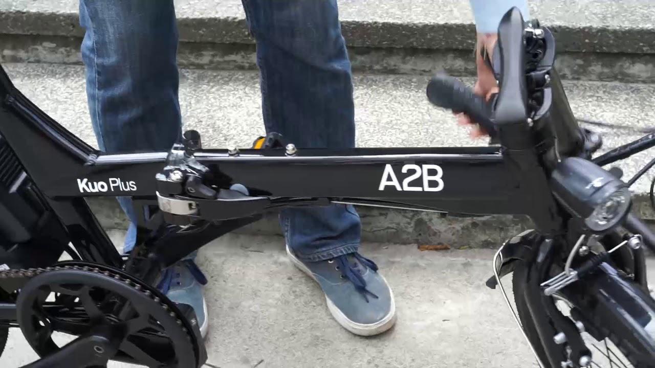 Kuo Plus - A2B bicicletas eléctricas de diseño e ingeniería alemana