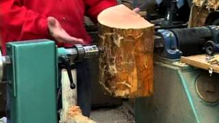 Lyle on Mounting Wood Blanks on a Lathe