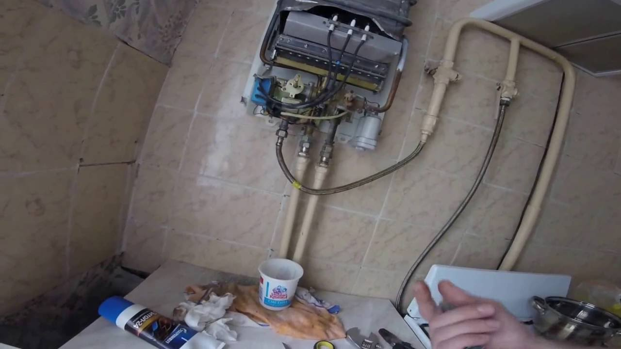 Газовая колонка астра ремонт своими руками видео фото 963