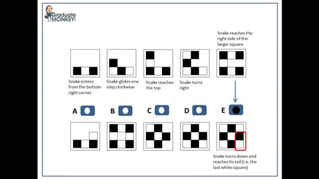 medium resolution of Logical Abstract Reasoning test tutorial SAMPLE 1 - YouTube