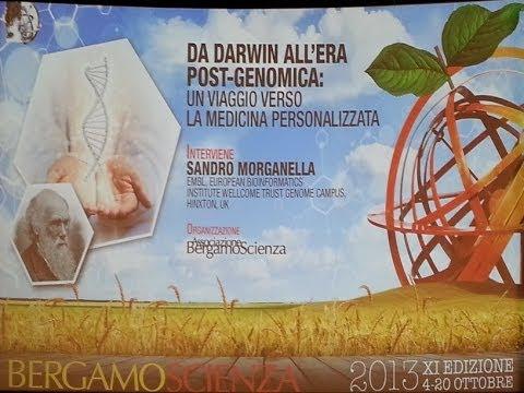 Bergamo Scienza - Sandro Morganella