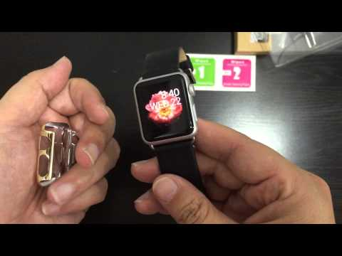 apple-watch-gold-color-protective-case-unboxing-and-review
