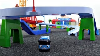 Tayo le petit bus. Une nouvelle voie de bus. Vidéo éducatif pour les enfants