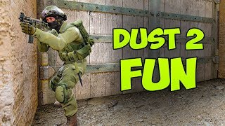 DUST 2 Can Be Fun Too - CSGO Faceit