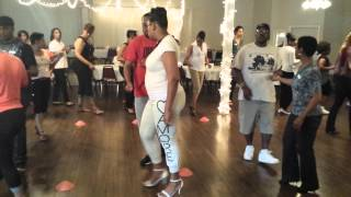 Guys Learning To Flow With A Partner 6 Count Chicago Style During Dance MAYnia