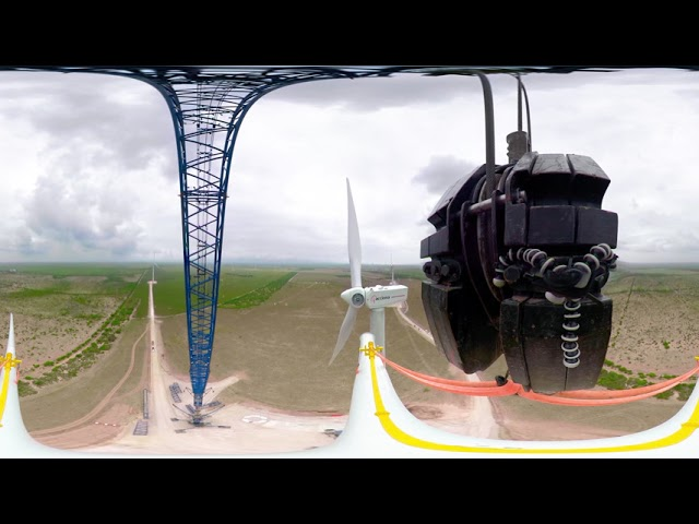 Would you like to know how ACCIONA assembles the blades of a wind turbine in its wind farms?
