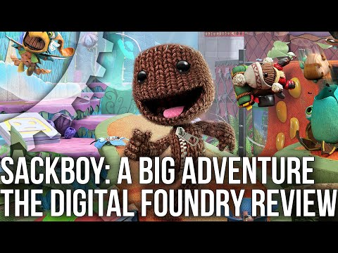 Sackboy: A Big Adventure - the Digital Foundry Tech Review - PS5 vs PS4 vs PS4 Pro!