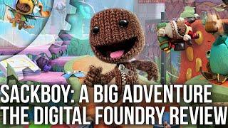 Sackboy: A Big Adventure - the Digital Foundry Tech Review - PS5 vs PS4 vs PS4 Pro!