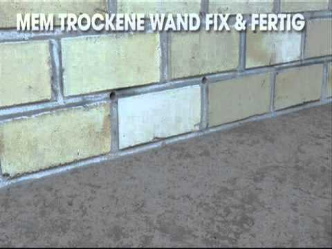 Produktvideo Trockene Wand Fix Fertig Youtube