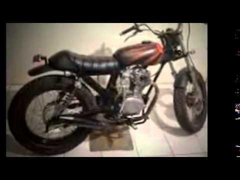 Model Gaya Modifikasi Motor Honda Cb 100 Jap Style Terbaru Youtube