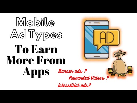 Apps Earning : Which Ad Type To Choose To Earn More ? | ThingsToKnow