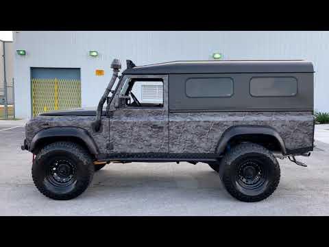 Black ops 1988 Land Rover Defender 110 FOR SALE