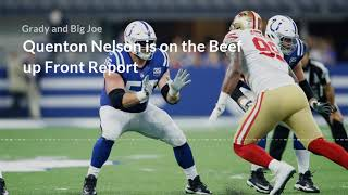Quenton Nelson Beef Up Front Report