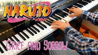 Grief and Sorrow (Naruto) ~ Piano arrangement w/sheet music!