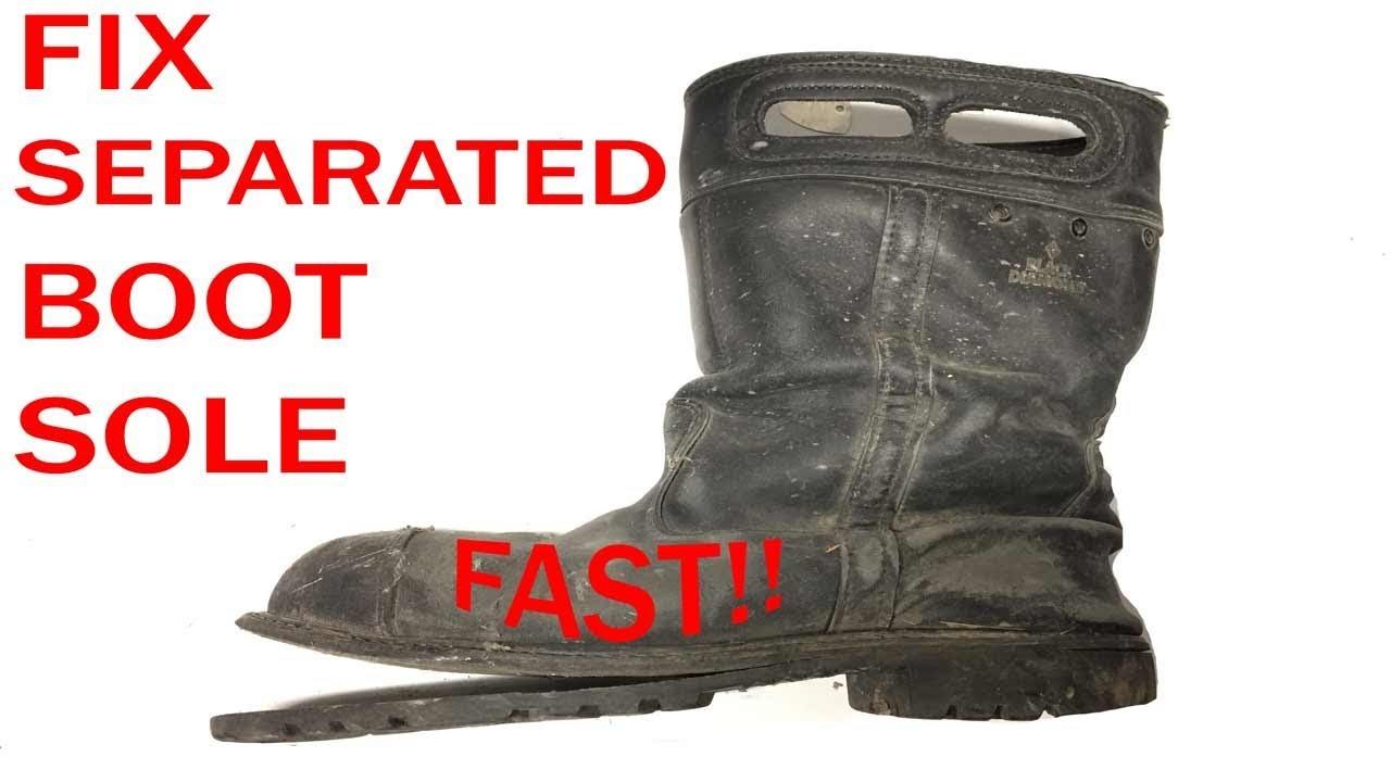 14b6f28585e Separated Boot Sole Repair