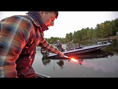 Don't Fish in Front of Duck Hunters! (Boat Problems)
