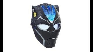 MARVEL Black Panther - Vibranium Power FX : Máscara Electrónica de Pantera Negra JUGUETE PELICULA