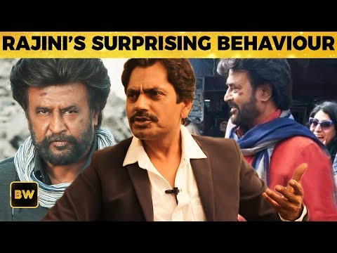 Rajini's SURPRISE Behaviour on Petta Sets ! Nawazuddin Siddiqui Reveals | Rajinikanth | Sun Pictures
