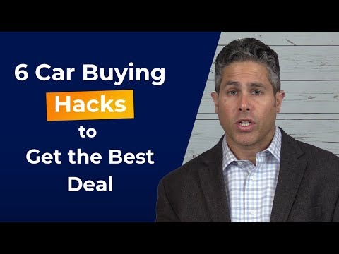6 Car Buying Hacks to Skip the Stress & Get a Deal