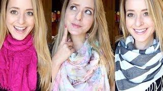 How to: Wear a Scarf | Fleur De Force