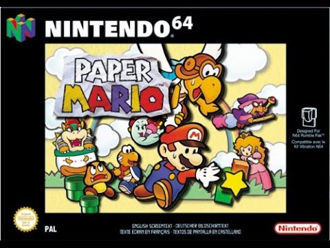 Paper Mario  (Wii U Virtual Console) Gameplay